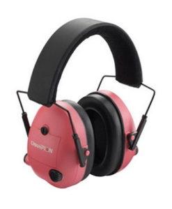 Champion Pink Electronic Ear Muffs