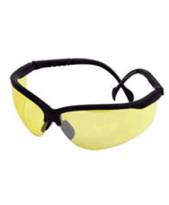 Champion Shooting Glasses with Black Curved Adjustable Frame