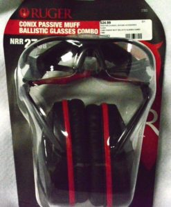 Allen Company 27865 Ruger Conix Ballistic Muff & Glasses Combo
