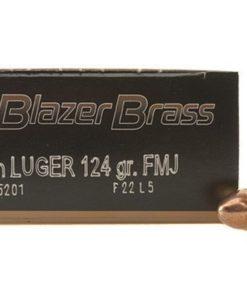 CCI Blazer Brass 9mm Ammo