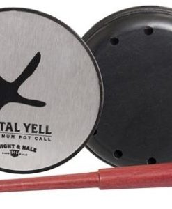 Knight and Hale Metal Yell Aluminum Pot Turkey Call