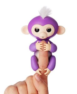 Purple Happy Monkey Fingerlings