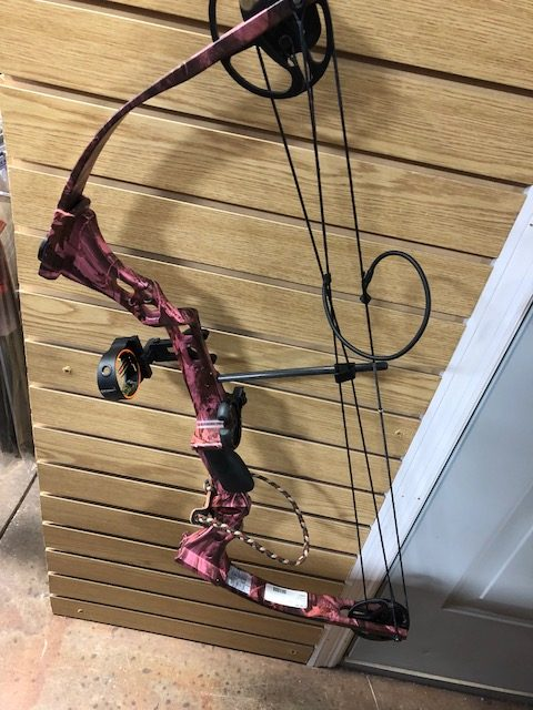 Parker Women's Pink Camo Sidekick Compound Bow