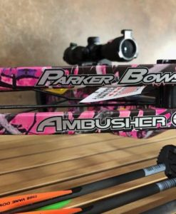 Parker Ambusher Crossbow Package with Illuminated Scope Muddy Girl Camo