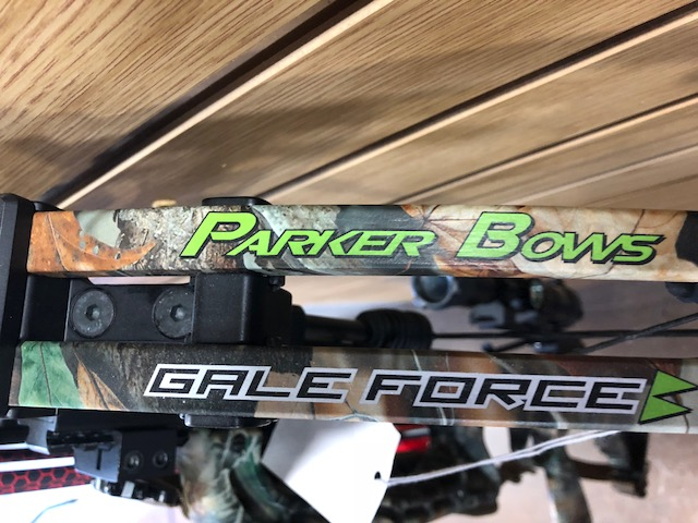 Parker Bows Gale Force With Scope