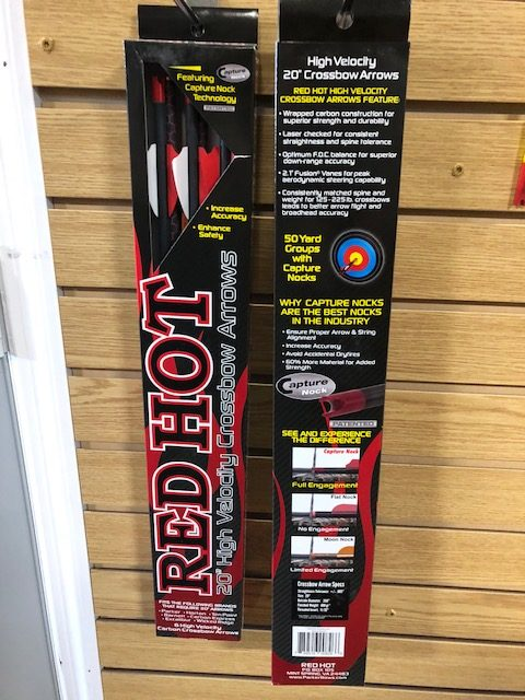 RED HOT High Velocity Crossbow Arrow