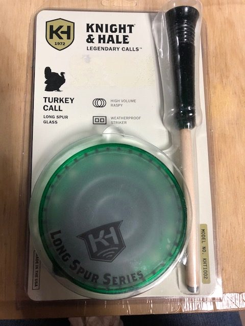 Knight & Hale Long Spur Series Glass Turkey Call