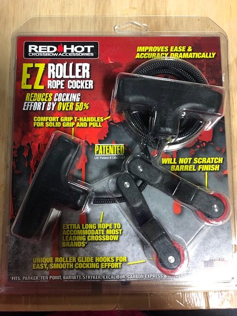 Red Hot EZ Roller Rope Cocker