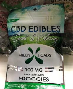 Click to buy 100 mg CBD Froggies