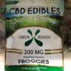 Click to Buy 200 mg CBD Froggies