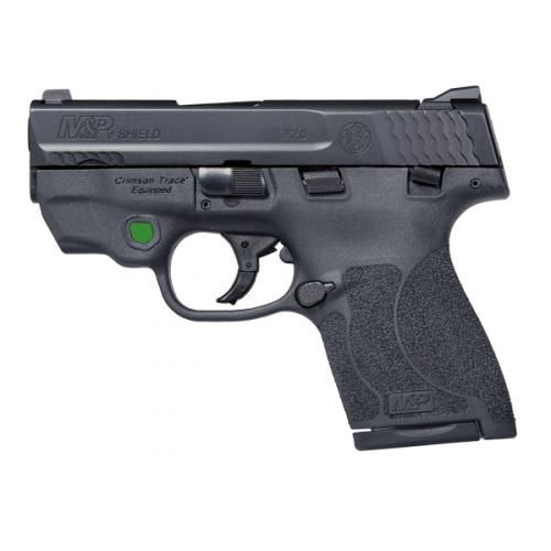 M&P9 Shield M2.0 Integrated Crimson Trace Green Laser with Tagua 4 in 1 Holster.1