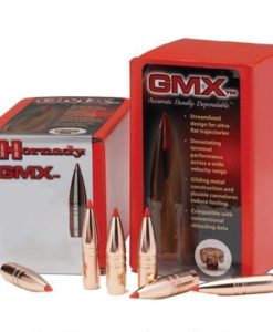 "Hornady 6mm Caliber .243"" Diameter 80 Grain Lead Free GMX Boat Tail Polymer Tip Bullet 50 Count"